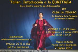 Cartel Introducción a la Euritmia